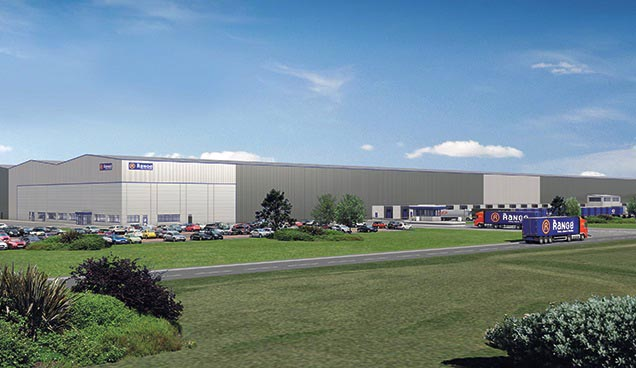 Delta's deal with The Range will see the construction of a 1.2m sq ft distribution unit