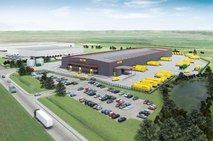 DHL's new Avonmouth site